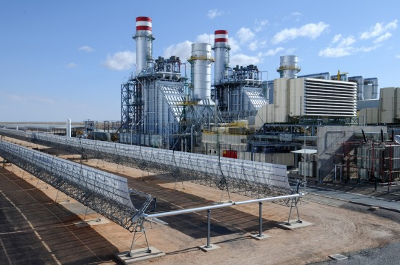 Ain Beni Mathar Integrated Combined Cycle Thermo-Solar Power Plant
